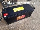 160 Ah AGM Vließbatterie Banner Solarbatterie Typ SBV12-160