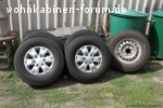 Ford Ranger Kompletträder 255/ 70 R16 M+S Cross Contact LX