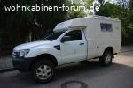 Ford Ranger XL mit AZALAI Kabine