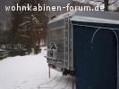 Winter-Vorzelt
